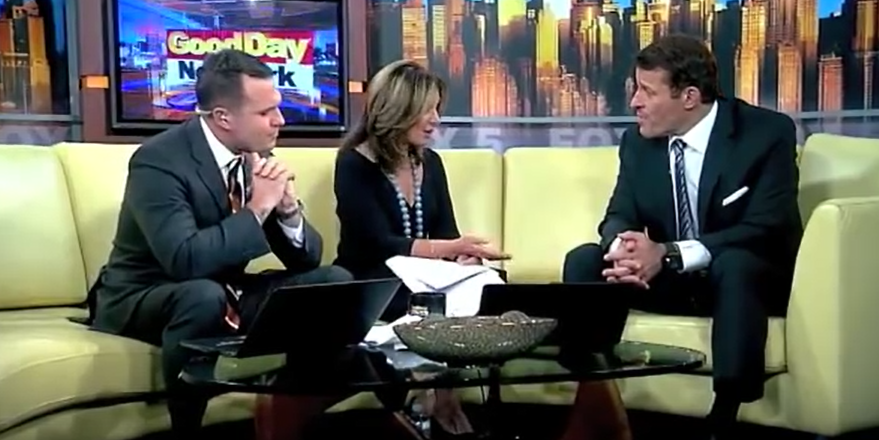 Tony Robbins shares his best morning routine